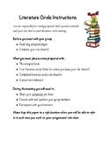Literature Circles Packet Grades 3-6