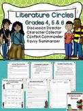 Literature Circles Grades 4, 5 & 6