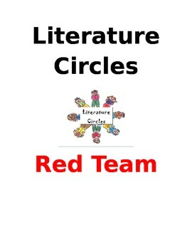 Literature Circles (Group covers, Jobs, Activities, Questions and Summary)