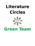 Literature Circles (Group covers, Jobs, Activities, Questi