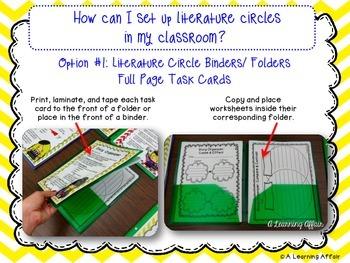 Literature Circles Guide Freebie