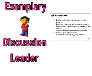 Literature Circles - Guidelines, Rubric, and Expectations