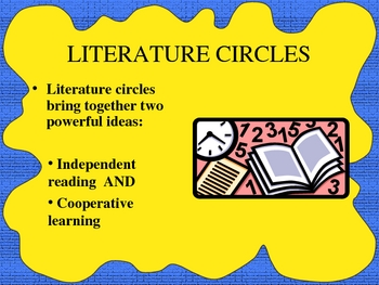 Literature Circles How To Powerpoint
