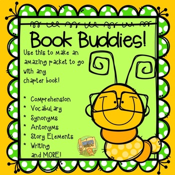Literature Circles - Independent Reading - BOOK BUDDIES!  Use with any novel!