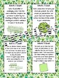 Literature Circles: Individual and Group Task Cards and Answer Sheets