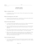Literature Circles: Information and Set-Up Materials All-in-One DEAL