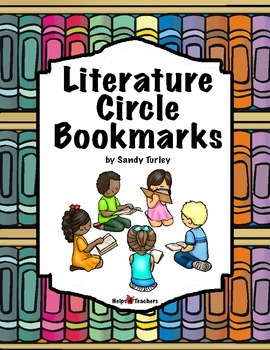 Literature Circles Interactive Bookmarks