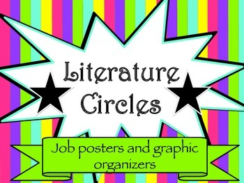 Literature Circles: Jobs and Assignment Pages