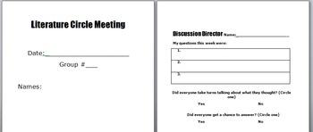 Literature Circles - Meeting Package