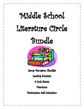 Literature Circles: Middle School Bundle