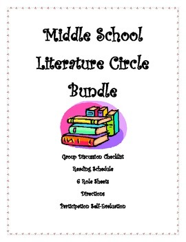 Literature Circles: Middle School Bundle