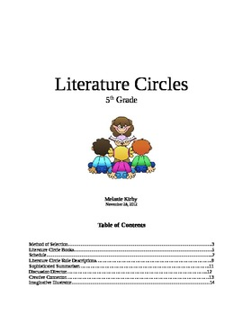 Literature Circles Packet