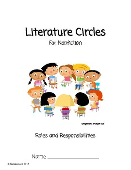 Literature Circles Packet for Nonfiction