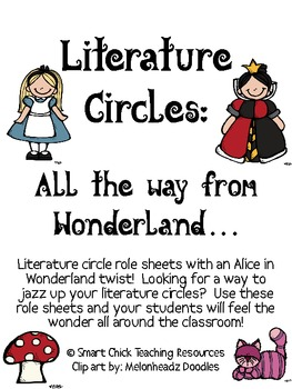 Literature Circles Packet...All the Way From Wonderland!