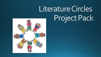 Literature Circles Project Pack with FREE Discussion Worksheets