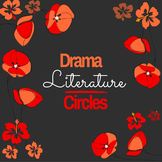 Literature Circles Project for Drama, Theatre, English or