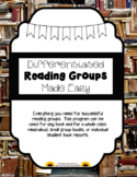 Literature Circles/ Reading Groups made EASY! Interactive