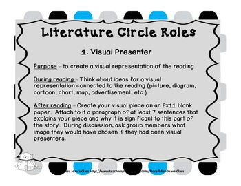 Literature Circles - Ready to Use Unit With Rubrics