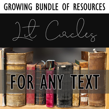 Literature Circles Resources: Growing bundle to help you organize Lit Circles!