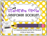 Literature Circles - Response Booklet and Posters