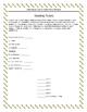 Literature Circles Response Sheets