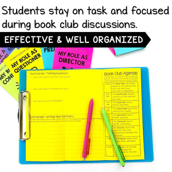 Literature Circle Jobs and Activities