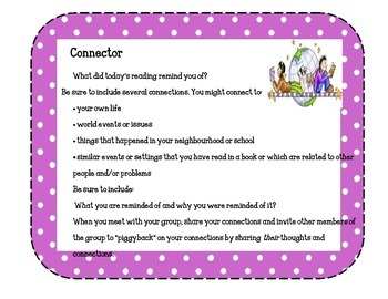 Literature Circles Role Cards