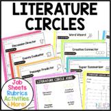 Literature Circles Roles Job Sheets Rubrics and More!