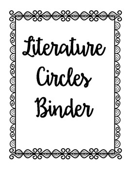 Getting Started with Literature Circles - Everything you need!