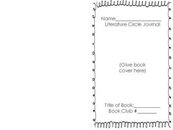 Literature Circles Student Journal