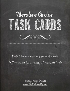 Literature Circles Task Cards