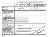 Literature Circles Template