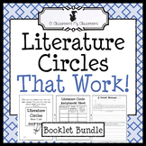 Literature Circles That Work Bundle *Common Core Aligned!