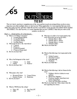 Literature Circles + The Outsiders
