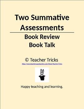 Literature Circles: Two Summative Assessments