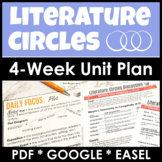 Literature Circles Unit Plan for High School With Lesson Plans and Assessments