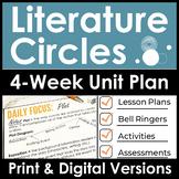 Literature Circles Unit Plan - 4 Weeks