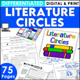 A Book Club Activities for Upper Elementary and Middle School