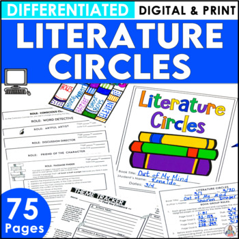 Literature Circles | Book Club Activities for Upper Elementary and Middle School