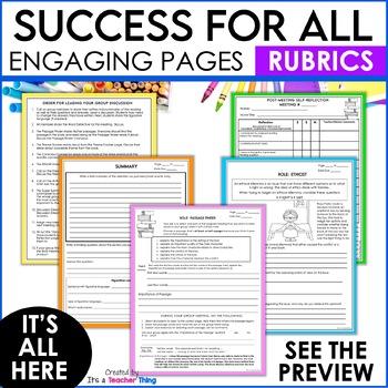 Literature Circles   Book Club Activities
