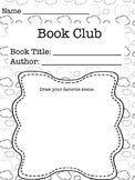Literature Circles and Book Club Packet
