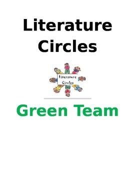 Literature Circles (cover pages, jobs, activities, questions and summary)