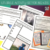 Literature Circles Activity Set for Any Book List (Editabl