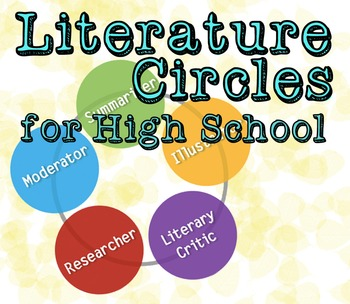 Literature Circles For High School By Mr Carrots Ela Goodies Tpt