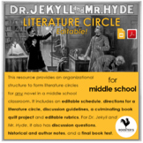 Literature Circles for Middle School - Dr. Jekyll and Mr.