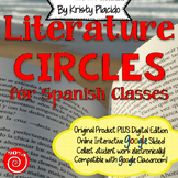 Literature Circles for Spanish Classes with ONLINE INTERACTIVE ACTIVITIES