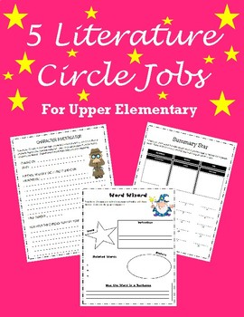 Literature Circles for Upper Elementary