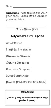 Literature Circles or Book Clubs starter kit