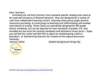 Literature Circles with Common Core