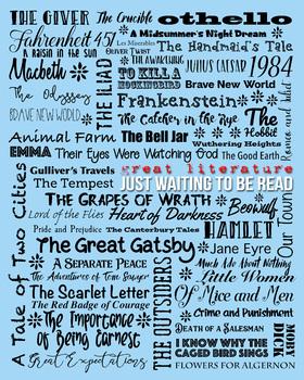 Literature Classics Classroom Poster